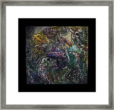 Kritters From The Sea Framed Print by Mimulux patricia no No