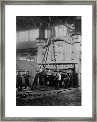 Krupps Essen, Germany, Steelworks Framed Print