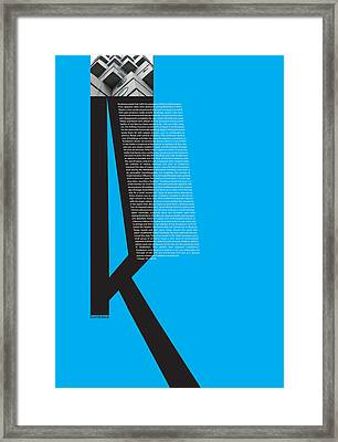 Kurosawa Poster Framed Print by Naxart Studio