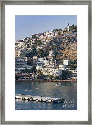 Kusadasi Framed Print by Andrew  Michael