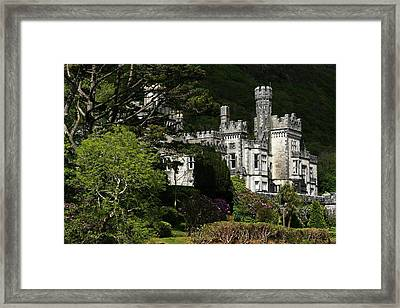 Kylemore Abbey, Connemara, County Framed Print by Peter Zoeller