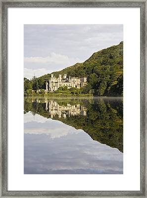 Kylemore Abbey, County Galway, Ireland Framed Print by Peter McCabe