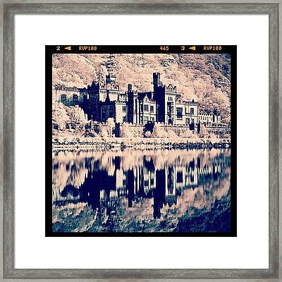Kylemore Abbey, Ireland. Taken With Framed Print