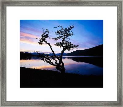 Kylemore Lake, Connemara, Co Galway Framed Print