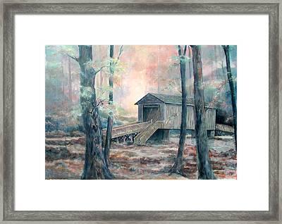 Kymulga Covered Bridge Framed Print by Gary Partin