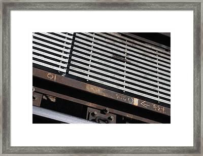L Tracks Framed Print by Hope Williamson