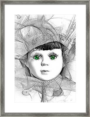 L003 Framed Print