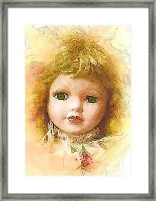 L004 Framed Print
