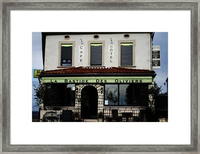 La Bastide Hotel And Cafe Framed Print