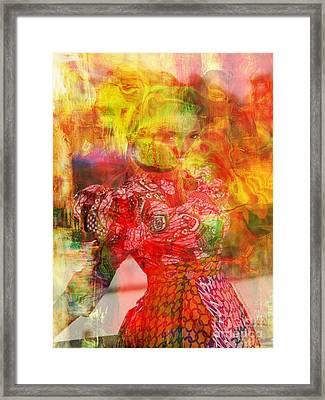 La Belle Framed Print by Fania Simon