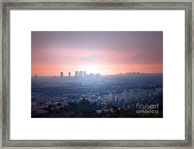 La Ca Framed Print