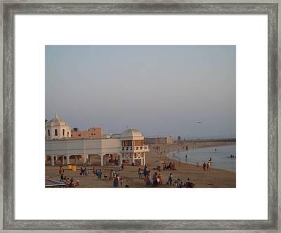 La Caleta Framed Print by Eire Cela