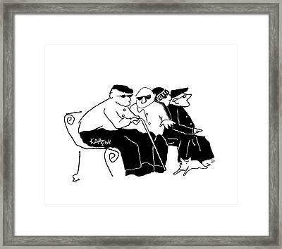 La Cosa Nostra Framed Print by Kev Moore