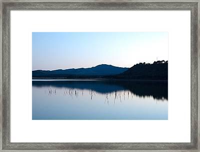 La Estanca-perdiguero 1 Framed Print by RicardMN Photography