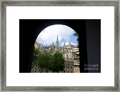 La Giralda Seville Framed Print by Perry Van Munster