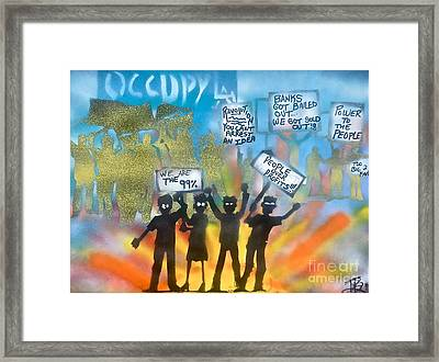 La Is..occupied Framed Print