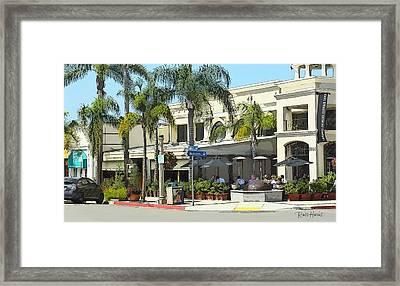 La Jolla Village Framed Print by Russ Harris