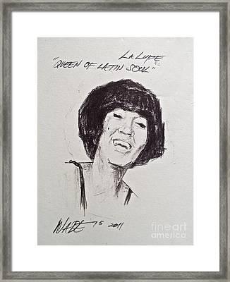 La Lupe Framed Print