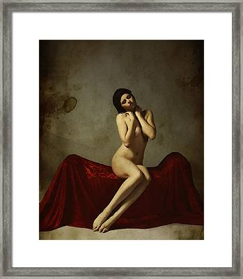 La Musa Non Colpevole Aka The Innocent Muse Framed Print by Cinema Photography