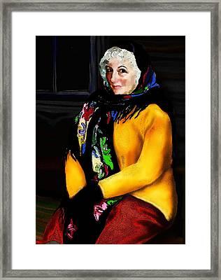 La Paysanne Russe Framed Print by Jann Paxton