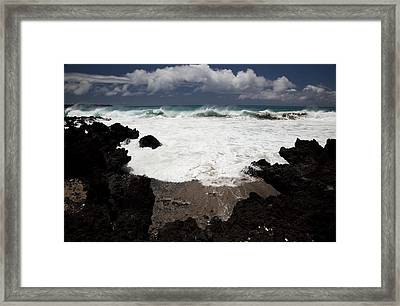 La Perouse Waves Framed Print by Jenna Szerlag