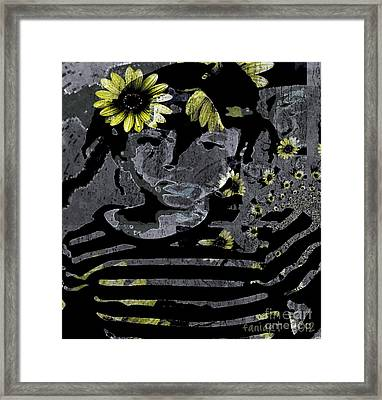La Plus Jolie Framed Print by Fania Simon