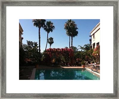 La Pool Framed Print by David Stich