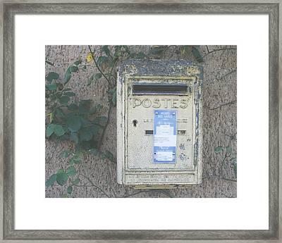 La Poste Framed Print by Georgia Fowler