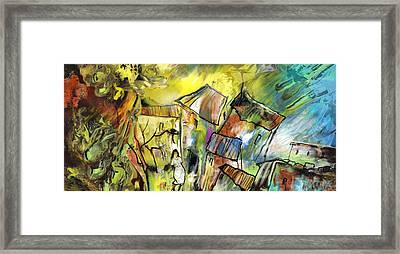 La Provence 27 Framed Print by Miki De Goodaboom