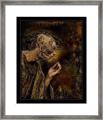 La Rosa Framed Print by Raul Villalba
