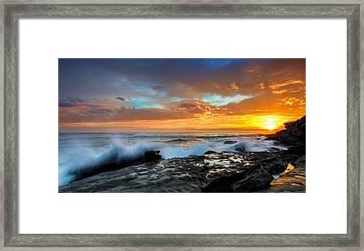La Salida Del Sol Framed Print