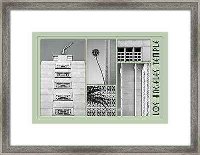 Framed Print featuring the photograph La Temple by Kevin Bergen