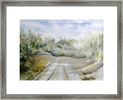 Labrador Wilderness Framed Print by Ramona Kraemer-Dobson