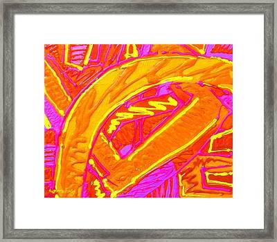 Labyrinth Framed Print by John  Nolan