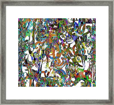 Lace Framed Print by Dave Kwinter