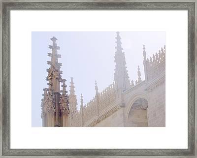 Laced Granada Framed Print by Lee Versluis