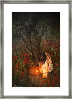Laces Undone Framed Print by Svetlana Sewell