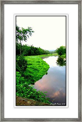 Framed Print featuring the photograph Lacwilliam  St-ferdinand Quebec by Danielle  Parent