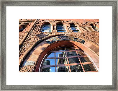 Ladder 15 Framed Print by JC Findley
