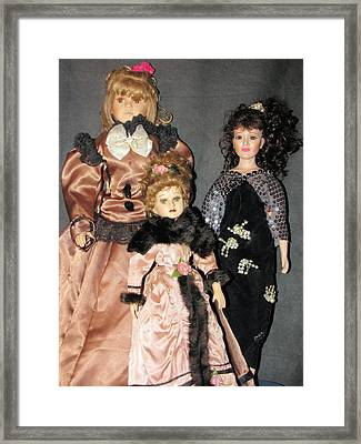 Ladies Framed Print by HollyWood Creation By linda zanini
