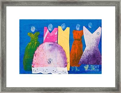 Ladies In Dresses Framed Print by Simon Bratt Photography LRPS