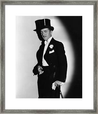 Ladies Man, William Powell, 1931 Framed Print by Everett