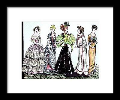 Designs Similar to Ladies Of Fashion 1860 To 1910