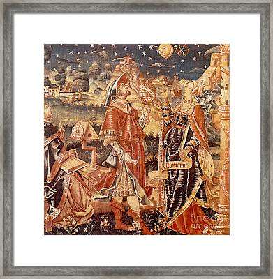 Lady Astronomy Framed Print