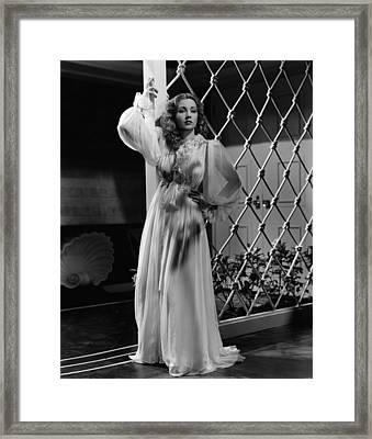 Lady Be Good, Ann Sothern, 1941 Framed Print