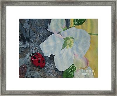 Lady Blossom Framed Print by Jennifer Taylor Rogerson