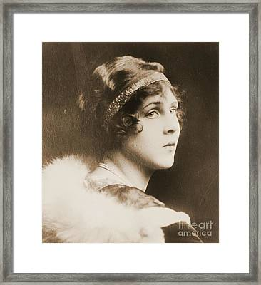 Lady Diane Manners Framed Print