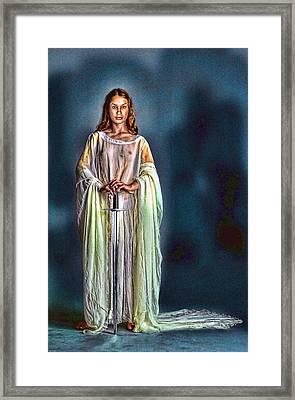 Lady Guinevere Framed Print by Tyler Robbins