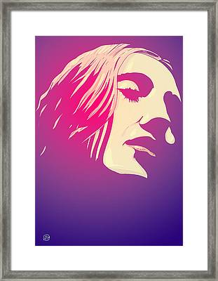 Lady In The Light Framed Print by Giuseppe Cristiano
