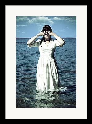 Blind Eyes Framed Prints